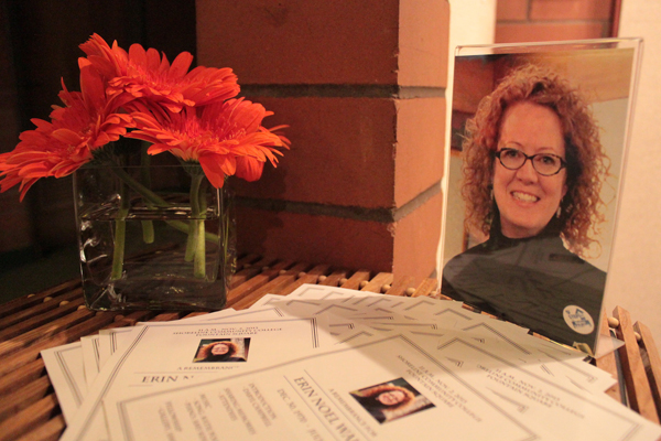 Friends, coworkers, family gather to remember Erin Walker