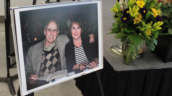Service for Marty Olsen draws crowd of best friends