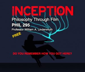Philosophy and Film MOOC about to begin
