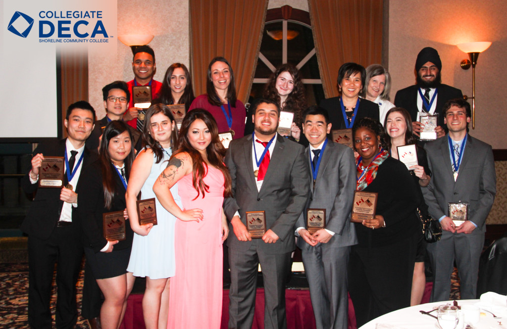Shoreline DECA 2015 Club Takes Top Prizes at Regional Competition