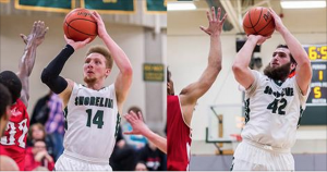 Two SCC Men's Basketball Players Named to NWAC 2nd Team North Region All-Star Team