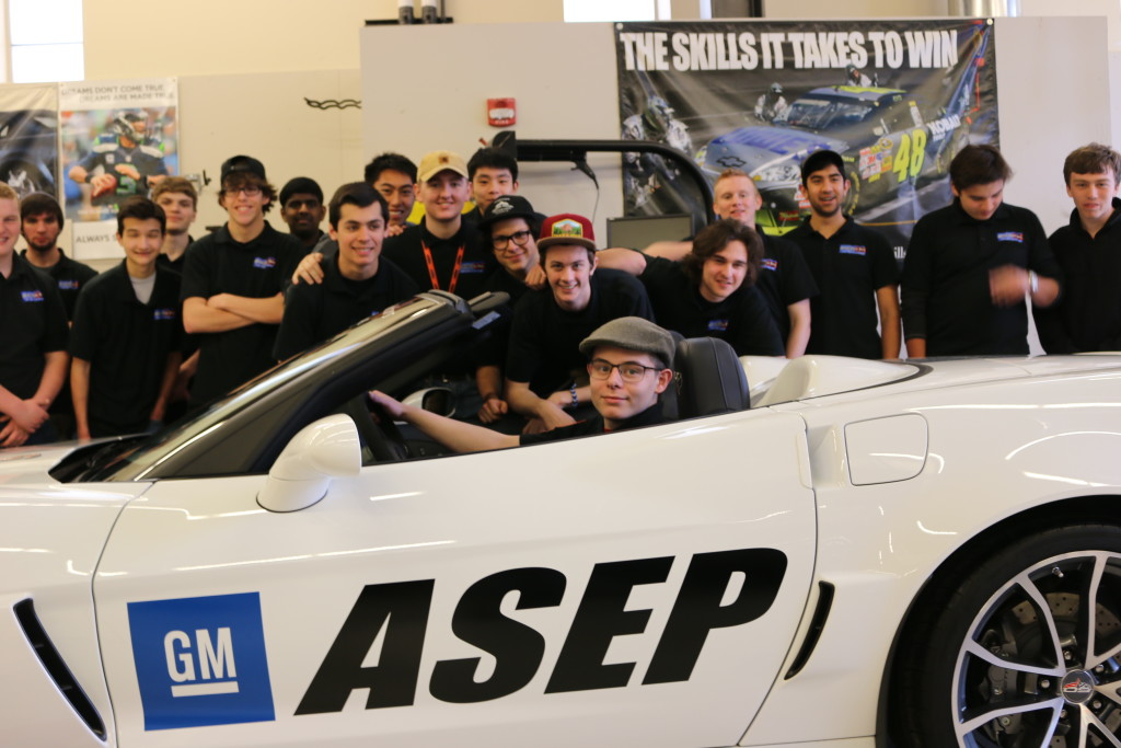 Shoreline's Automotive Program and GM donate two high-performance vehicles to Bellevue High's Automotive Technology Program