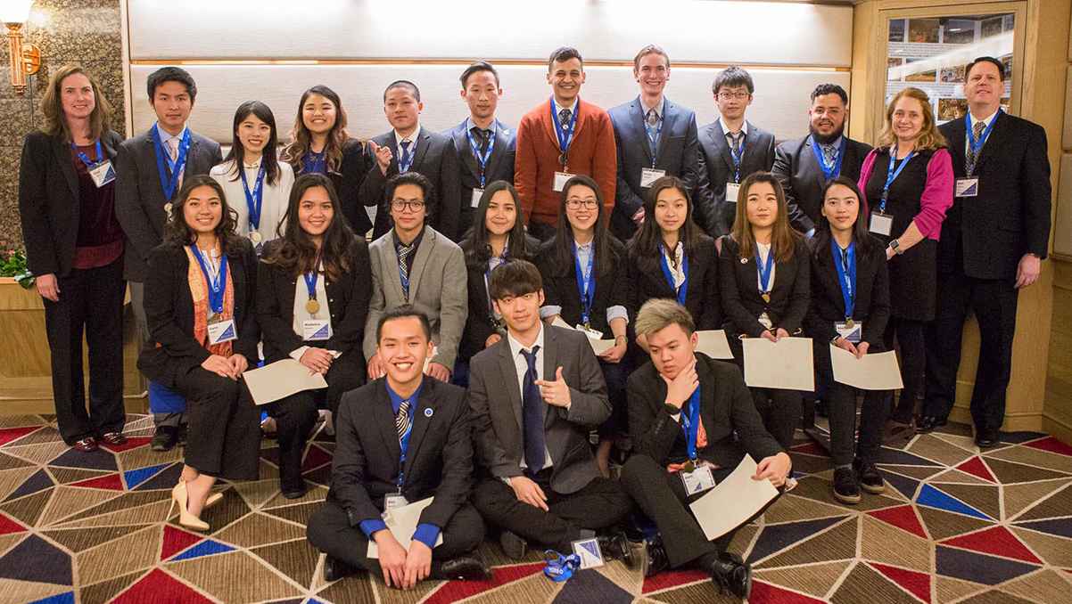 DECA students bring home medals, move on to international competition