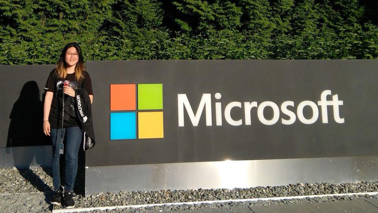 International alum finds her path to Microsoft through Shoreline