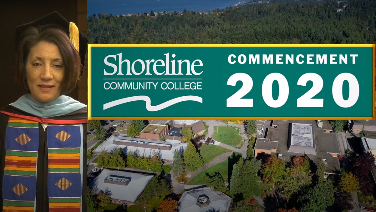 Shoreline Community College celebrates its first virtual Commencement