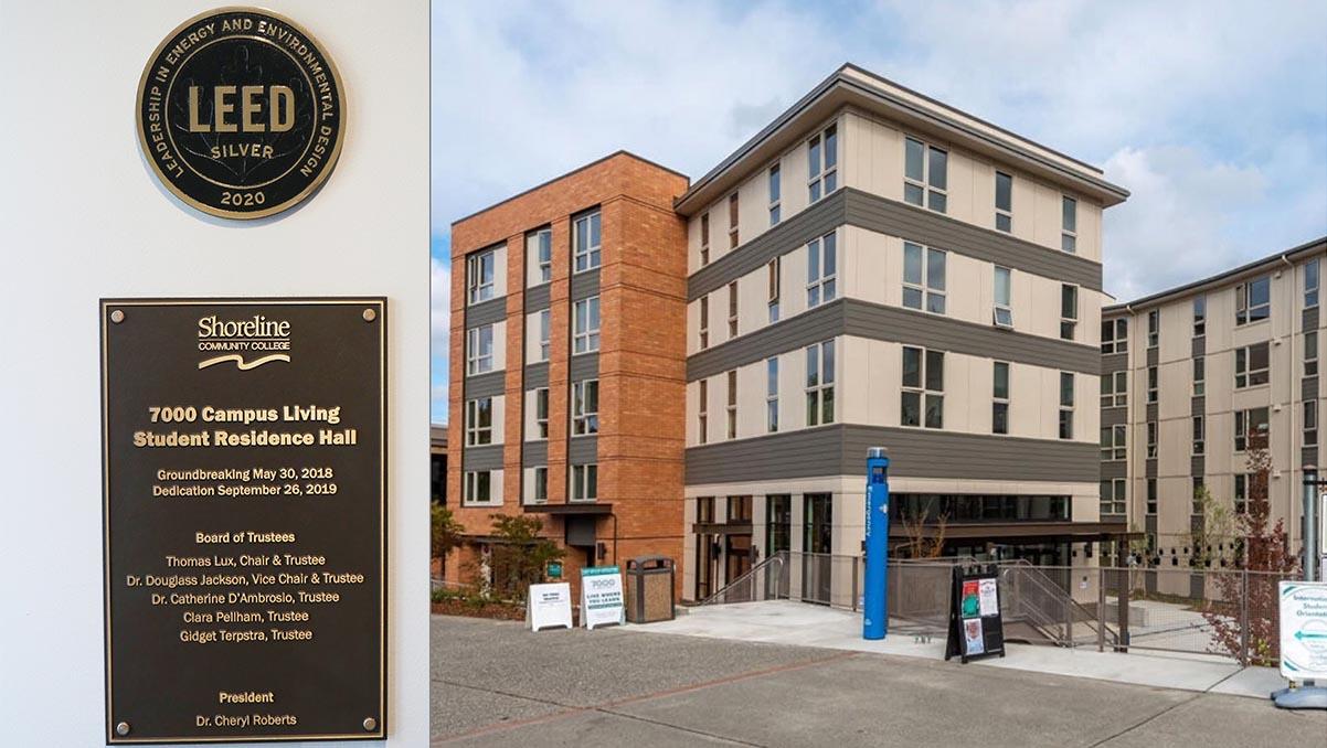 Student Residence Hall Awarded Prestigious LEED Green Building Certification